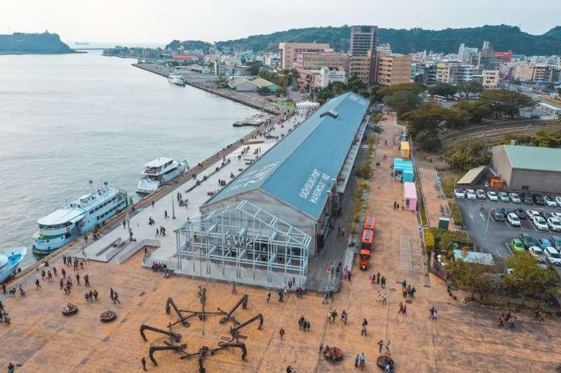 駁二藝術特區常駐展,讓旅客來趟文青知性旅遊。(圖/高雄市觀光局提供)