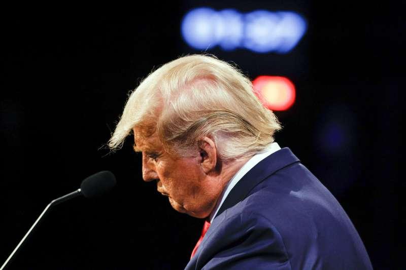 2020年美國總統大選輸家:美國總統川普(AP)