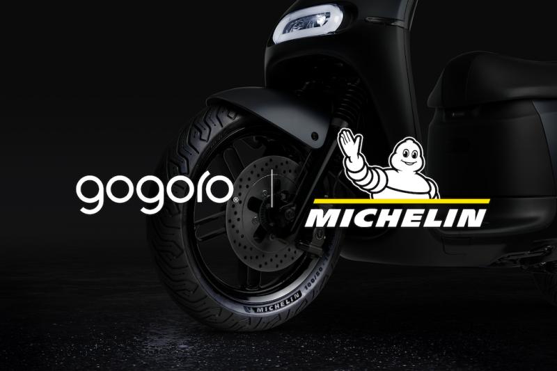 米其林與 Gogoro 合作,共同努力研發出電動機車專屬的 MICHELIN 全天候性能胎,為電車騎士打造流暢與靈巧的駕馭感受。(圖/業者提供).png
