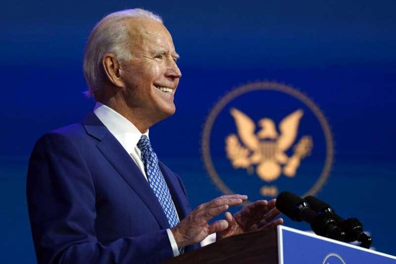 美國總統大選確定由民主黨候選人拜登勝出,預定2021年1月20日將就任成為美國第46位總統。(美聯社)