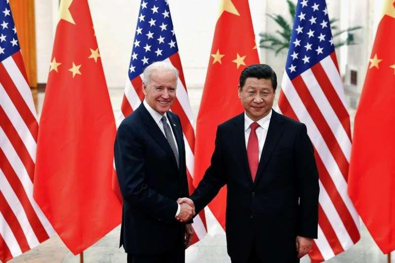 美國準總統拜登與中國國家主席習近平。(BBC中文網/Reuters)