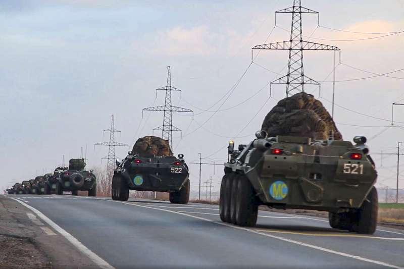 納哥諾卡拉巴克(納卡)停火:俄羅斯派兵進駐維和(AP)