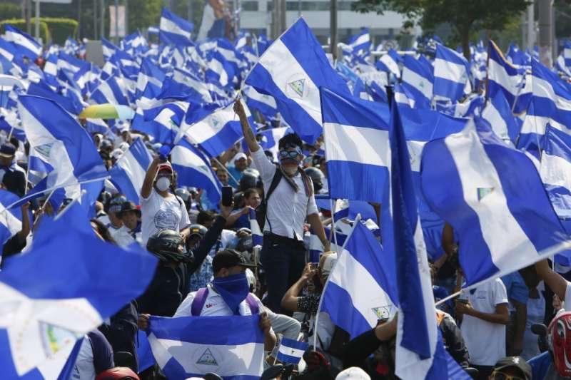 2018年,尼加拉瓜爆發反奧德嘉政府的示威抗議活動,導致300多人喪生(美聯社)