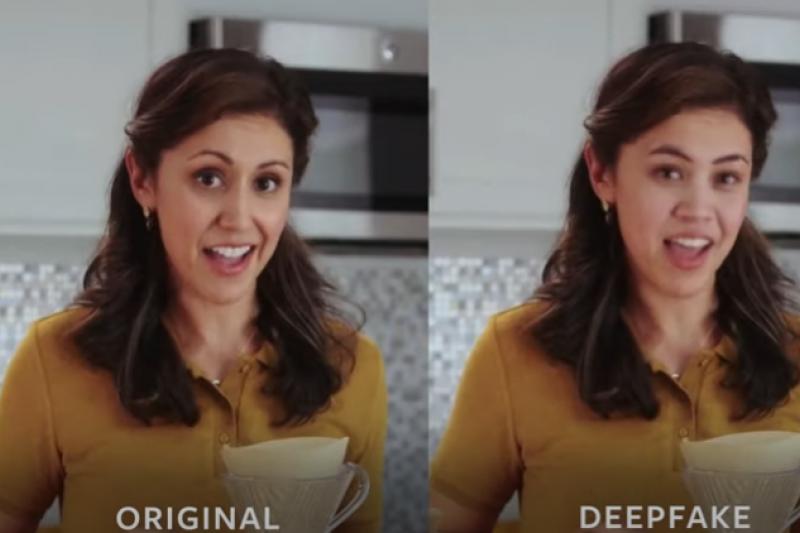 你是否也曾經觀看、甚至轉發過Deepfake製作出來的假影片呢?(圖/取自 VentureBeat@Youtube)
