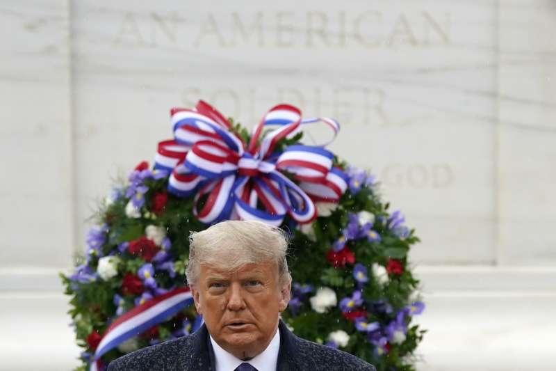 2020年11月,在總統大選中落敗的美國總統川普(AP)
