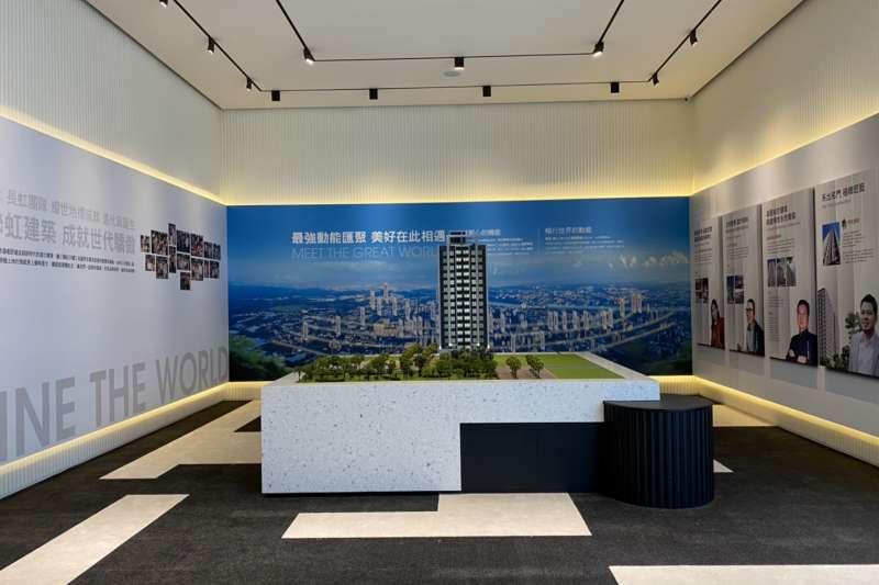 「聯虹星耀」是長虹與聯虹名宅規劃團隊,47年來第一次用豪宅規格打造的最小坪數產品。(圖/富比士地產王提供)