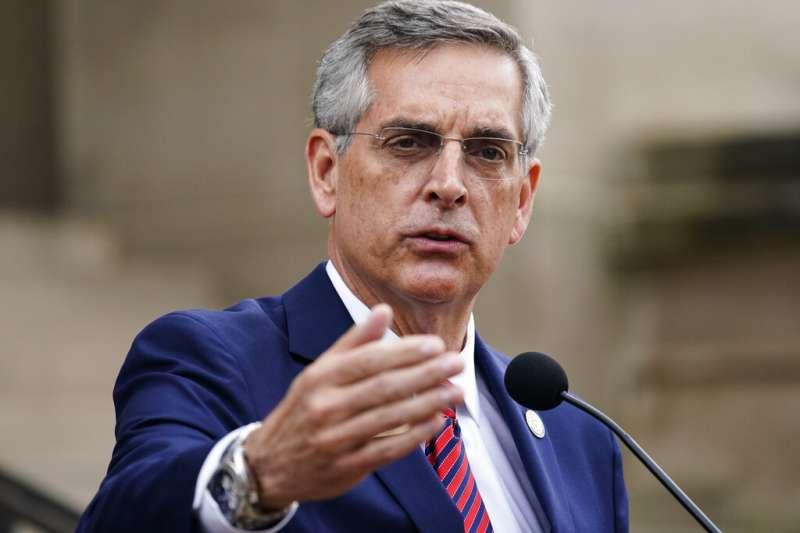 喬治亞州州務卿拉芬斯伯格(Brad Raffensperger)11日表示,喬治亞州將重新計算11月3日總統大選的所有選票。(美聯社)