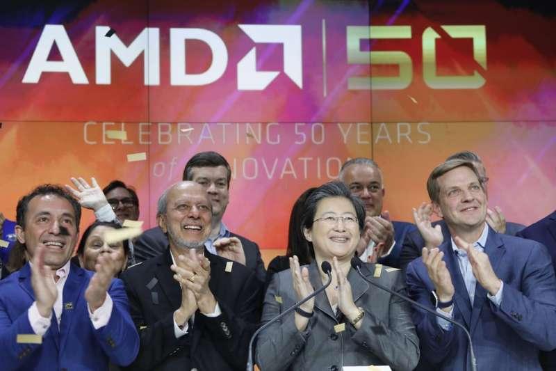 2020尼10月27日,超微半導體公司 (AMD)宣布斥資350億美元收購晶片生產商賽靈思(Xilinx)。(AP)