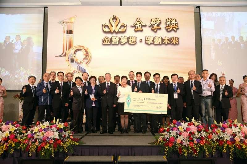 財政部今舉行「第18屆民間參與公共建設金擘獎頒獎典禮」。(圖/財政部提供)