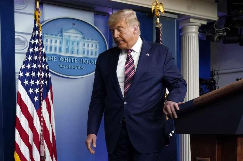 2020年美國總統大選,落敗的川普何時認輸,舉世關注(AP)
