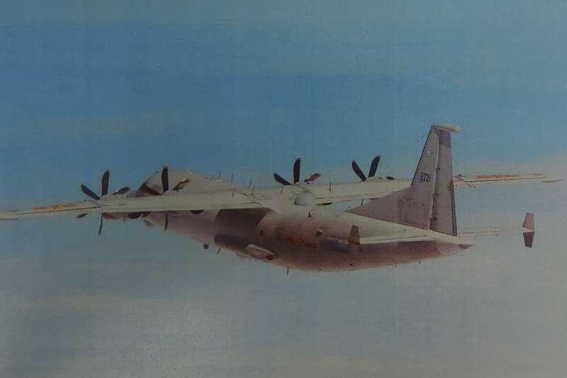 根據國防部「即時軍事動態」專區資訊顯示,共機11月後已第11次進入我西南空域侵擾。圖為運8技偵機。(為空軍司令部提供)