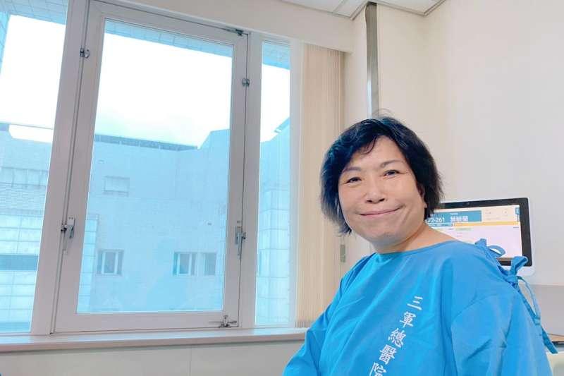 國民黨立委葉毓蘭(見圖)16日質詢時表示,她向醫院請假抱病而來,「說不定是我最後一次質詢了」。(取自葉毓蘭臉書)