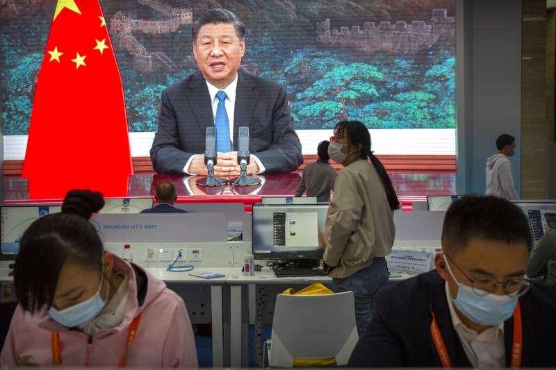 中國領導人習近平。(美聯社)