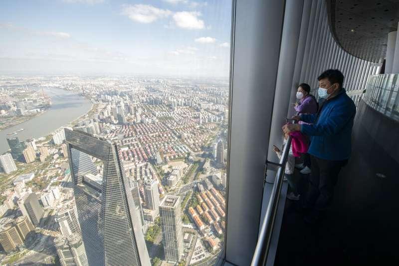 上海一景。(美聯社)