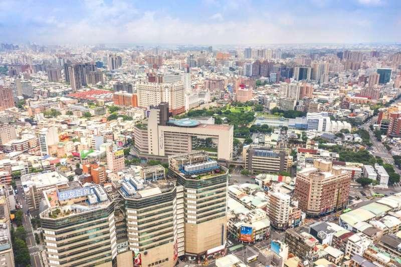台中市買高層大樓最高貴,多集中在七期重劃區、美術館特區及勤美草悟道一帶。(台灣房屋提供)
