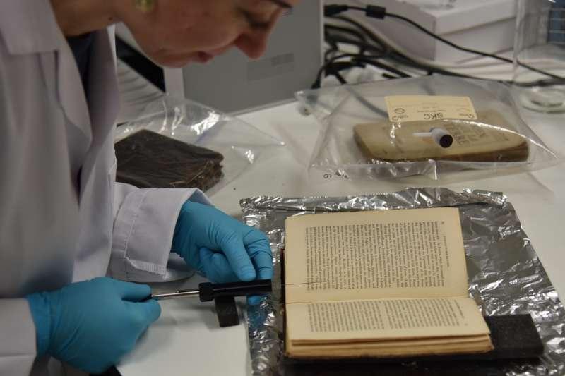 英國與歐洲的科學家和歷史學家合作,整理16至20世紀歐洲文獻裡的氣味資訊,試圖重現老歐洲的味道。(截自推特)