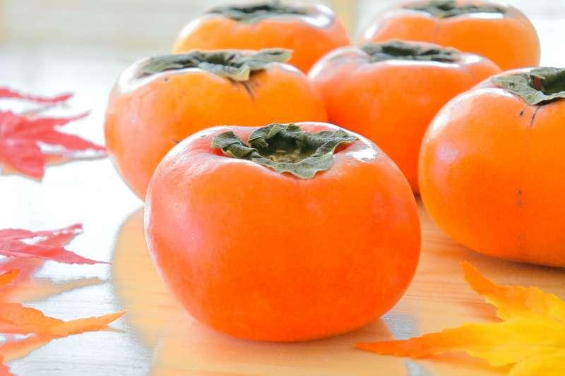 秋天最好吃的柿子,有甚麼食用禁忌呢?(圖/取自photoAC)