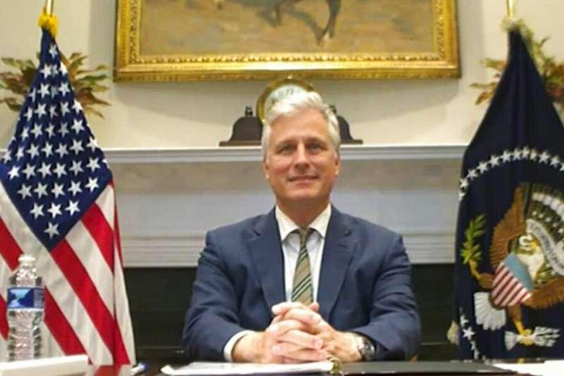 白宮國家安全顧問歐布萊恩。(美聯社)