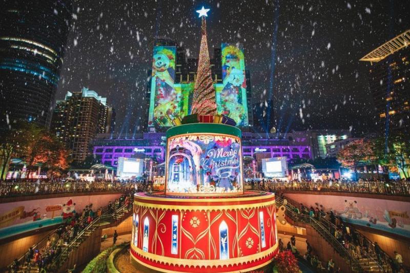 2020新北歡樂耶誕城閃耀開城,你去逛了嗎?(圖/max__630@instagram提供)