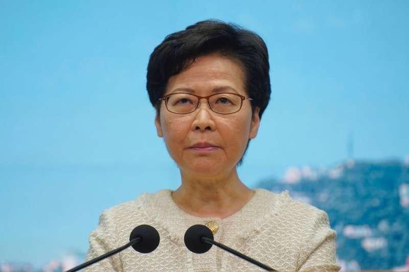 學者認為有線電視新聞部裁員,展示出林鄭月娥政府整治香港傳媒的決心。(美聯社)