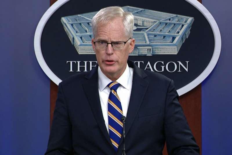 美國代理國防部長米勒。(美聯社)