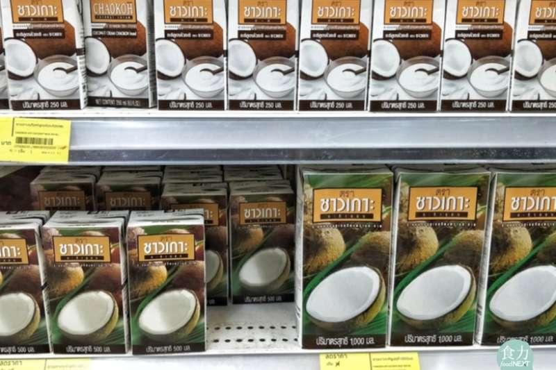 遭善待動物組織PETA查獲,涉嫌虐待猴子的椰奶品牌Chaokoh。(圖/食力foodNEXT提供)