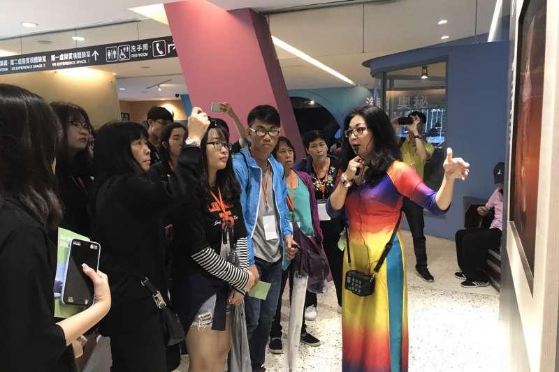 十三行博物館推出多語導覽服務,連越南語、泰語、印尼語服務都有。(圖/十三行博物館提供)