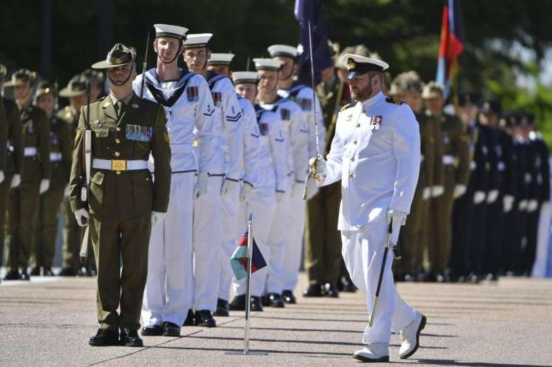 澳洲軍隊、澳洲軍人。(AP)