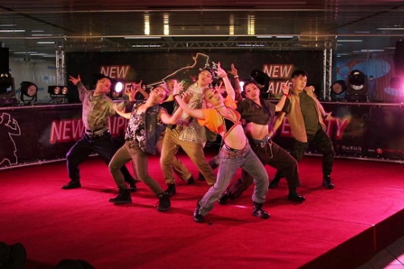 亞洲舞團MANIAC帶來精彩演出。(圖/潘品伸攝)