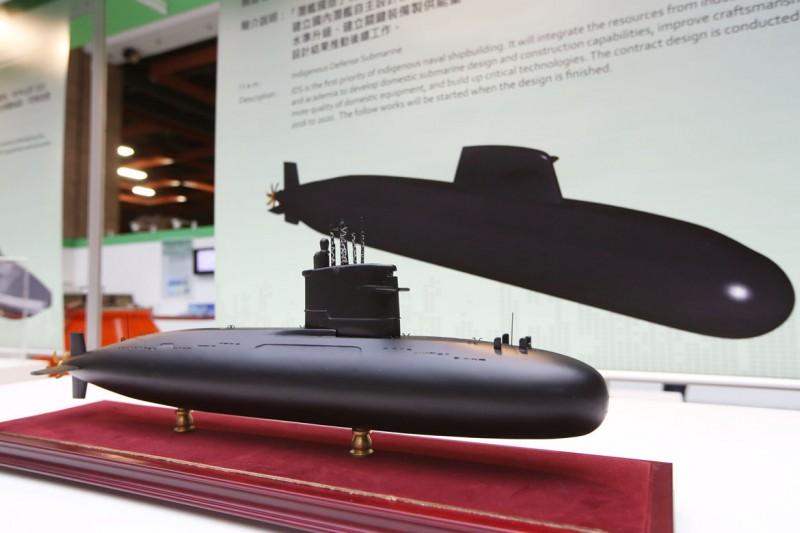 台灣推動潛艦國造,將於24日舉行廠房開工典禮,但媒體今(22)日報導,2項紅區裝備,對此,海軍做出正面回應。(資料照,郭晉瑋攝)