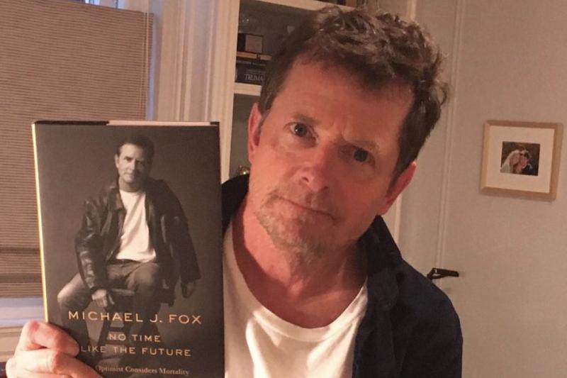米高福克斯於新書《No Time Like the Future》中宣佈將「二次退休」。(截自IG)