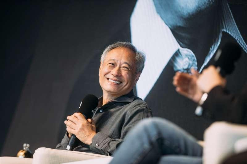 金馬執委會主席李安20日出席金馬大師課,與電影從業人員暢談拍片心法。(金馬執委會提供)