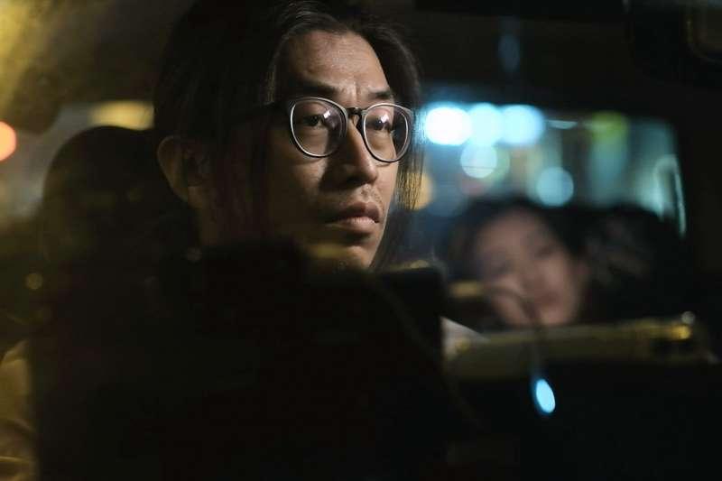 香港導演郭臻以拍攝反送中運動為主題的短片《夜更》奪下金馬獎最佳短片。圖為《夜更》劇照。(金馬執委會提供)