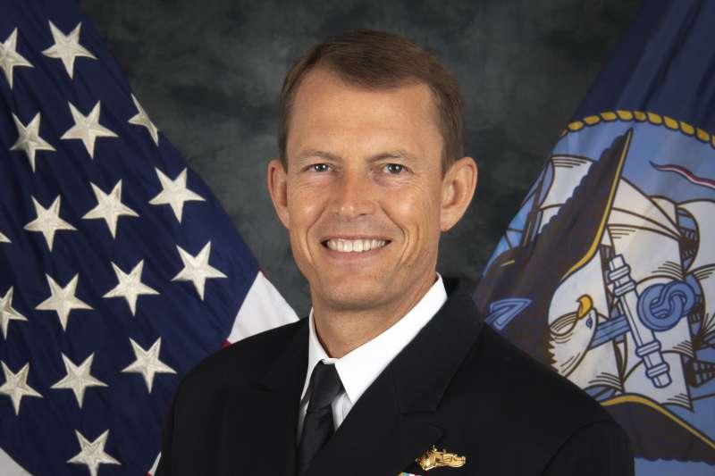 美國印太司令部情報指揮官史達德曼(Michael Studeman)(翻攝美國海軍官網)