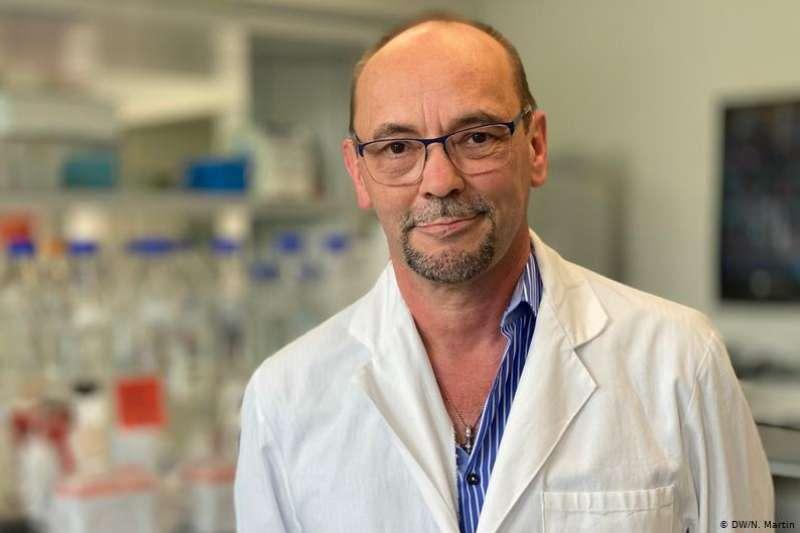 德國研發疫苗的企業家皮昂特克(Michael Piontek)(DW)