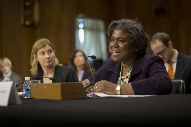拜登新政府:美國國務院前非洲事務助卿湯瑪斯─格林菲爾德可能成為新任美國駐聯合國大使(資料照,AP)