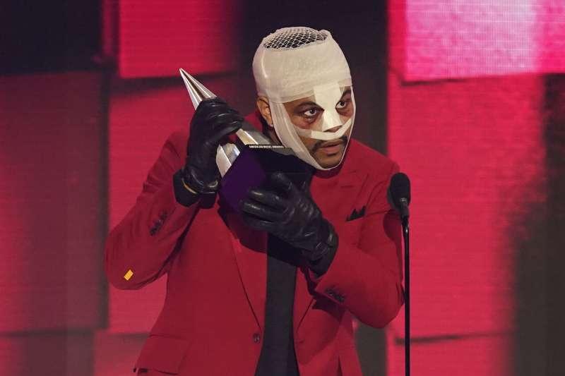 2020全美音樂獎:加拿大節奏藍調歌手威肯(The Weeknd)是得獎大贏家(AP)