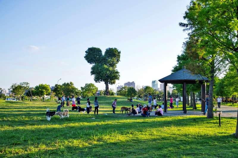 南興公園實景。(圖/富比士地產王提供)