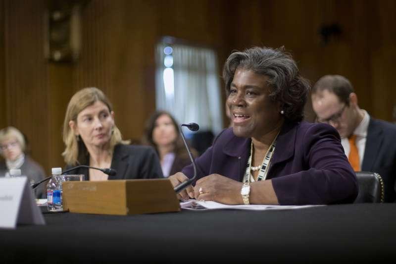 被美國總統當選人拜登提名出任美國駐聯合國大使的湯瑪斯─格林菲爾德(Linda Thomas-Greenfield)(AP)