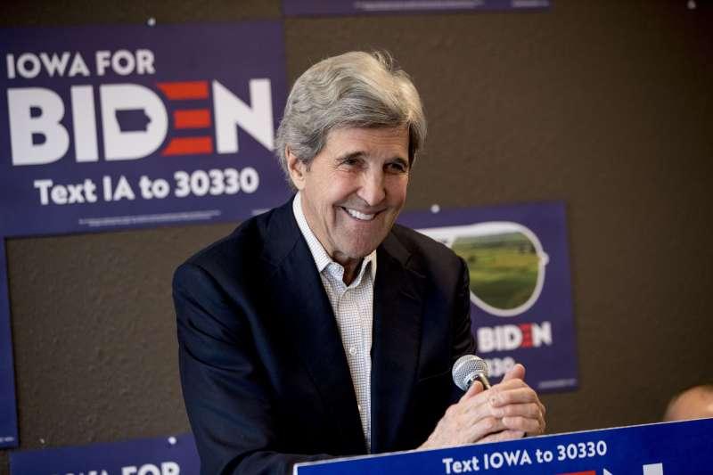 美國前國務卿凱瑞(John Kerry)被拜登提名為氣候事務總統特使(Special Presidential Envoy for Climate)(AP)