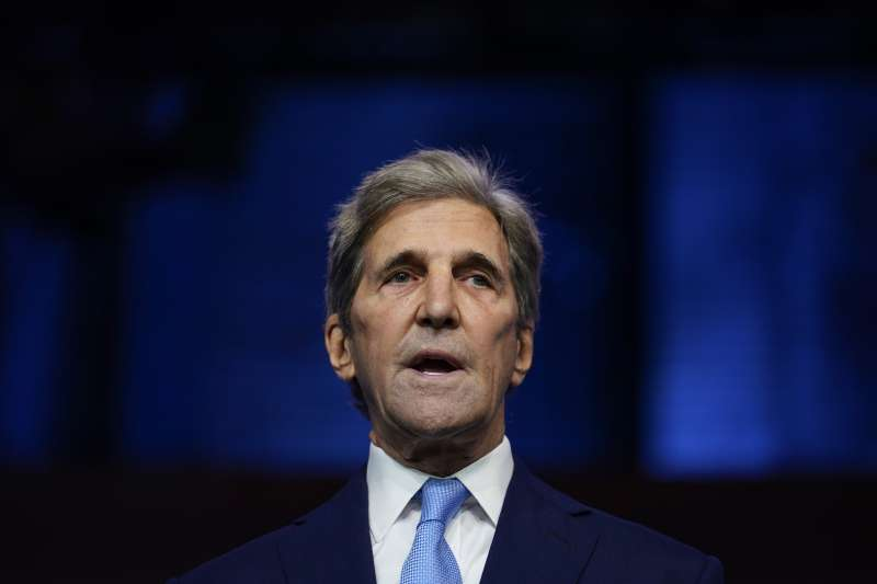 拜登首波內閣人選:美國氣候變遷特使凱瑞(AP)