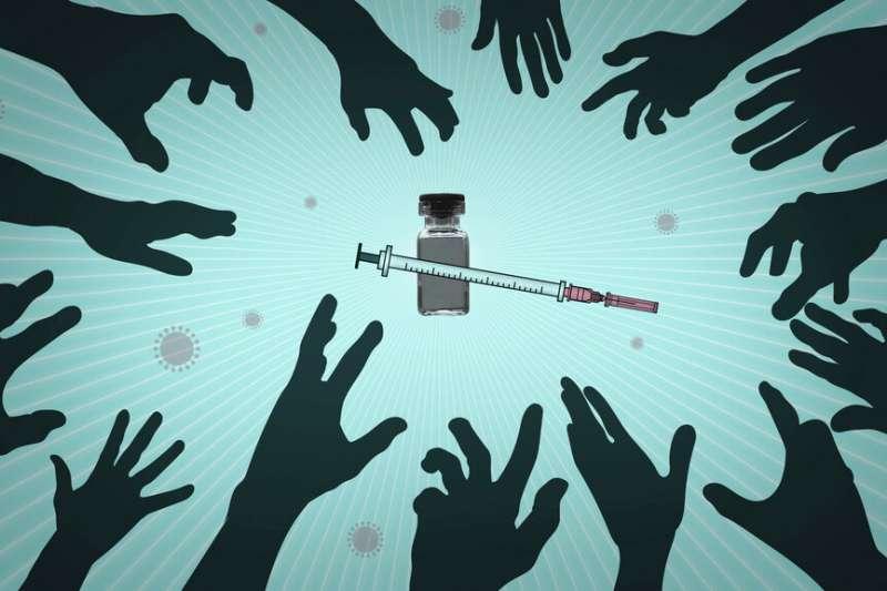 新冠疫苗雖然即將上市,但如何公平分配、能否供應所需,都成為後新冠世界深受矚目的課題。(美聯社)