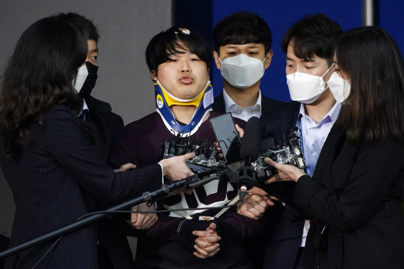 南韓「N號房」主嫌趙主彬一審被判40年重刑。(美聯社)