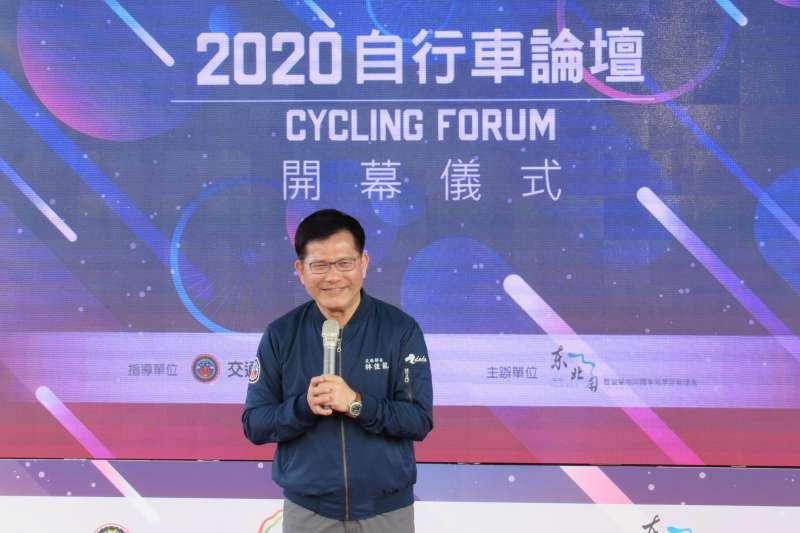為啟動2021年自行車旅遊,交通部特別邀請產學研及相關局處、縣市代表,以及愛好騎乘的車友們共同參與今年的自行車論壇。(圖/交通部觀光局提供)