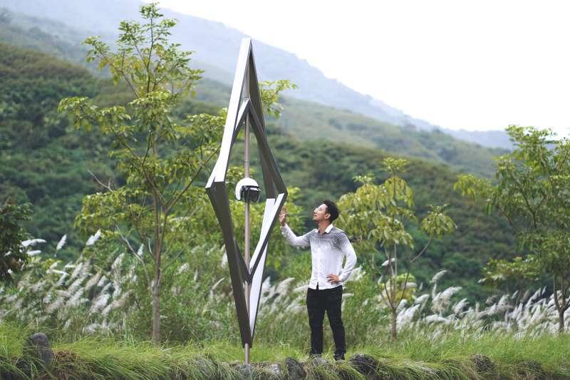 駐村藝術家 楊子宏,作品名稱 Bosi 帽子。(圖/原文會提供)