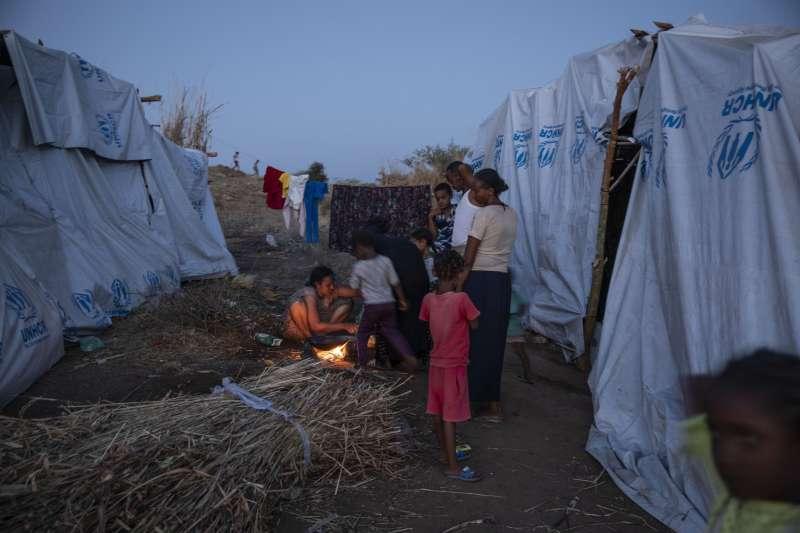 聯合國難民署在蘇丹設立安置衣索比亞人的營區(AP)