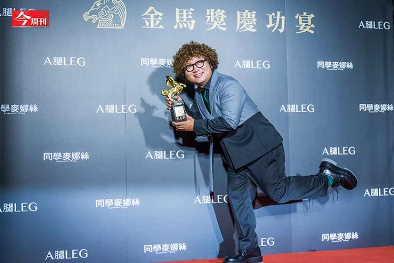 「跌倒,站起來,再跌倒,再站起來。」納豆這次終於奪下金馬獎座。(圖片來源/今周刊,攝影/蕭芃凱)