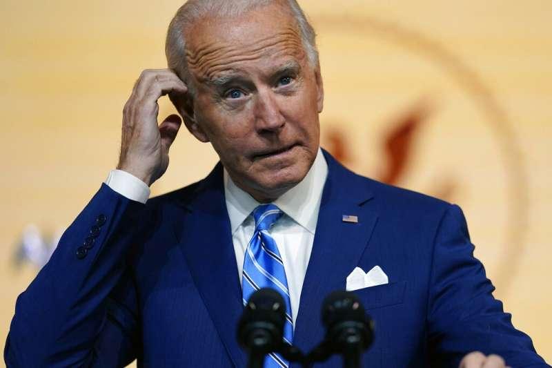 美國後任總統拜登指出要重回多邊主義、要由美國領導盟友。(美聯社)