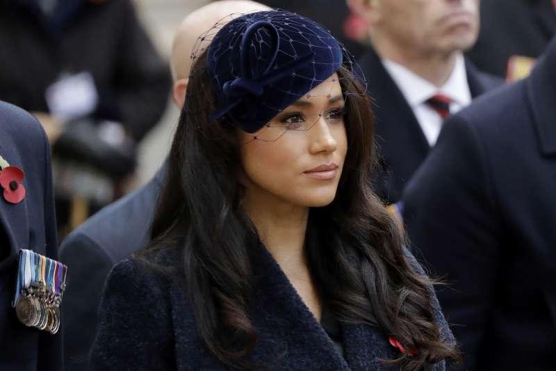 英國薩塞克斯公爵夫人梅根(Meghan Markle)。(AP)