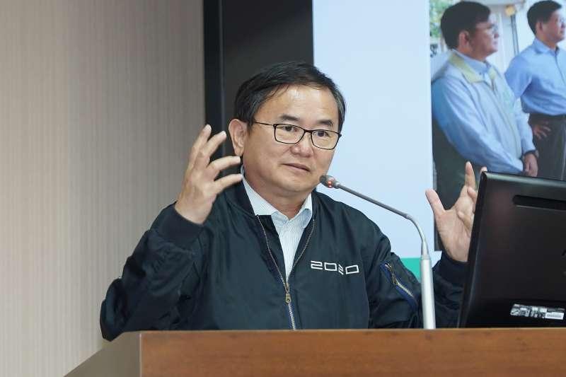 20201126-立委劉櫂豪26日於交通委員會質詢。(盧逸峰攝)
